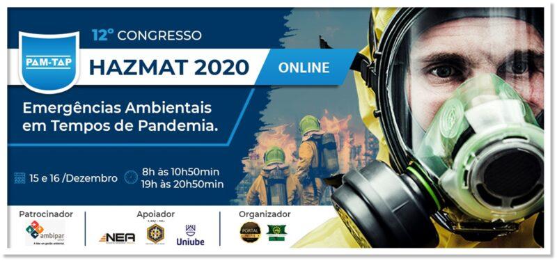 12° Congresso HAZMAT 2020 – PAM-TAP