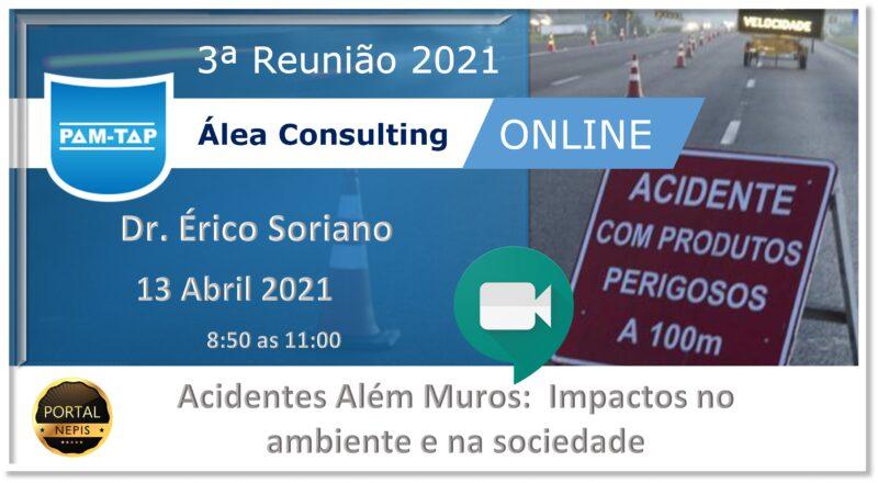 Álea Consulting – 3ª Reunião PAM-TAP  2021 Online